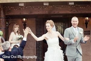 Wedding High Five